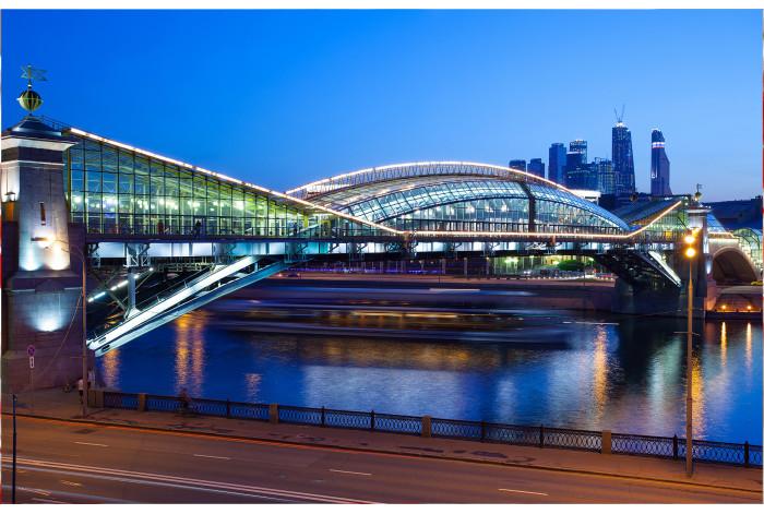 Модульная картина Андреевский мост