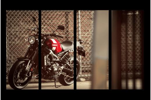 Модульная картина Мотоцикл Yamaha